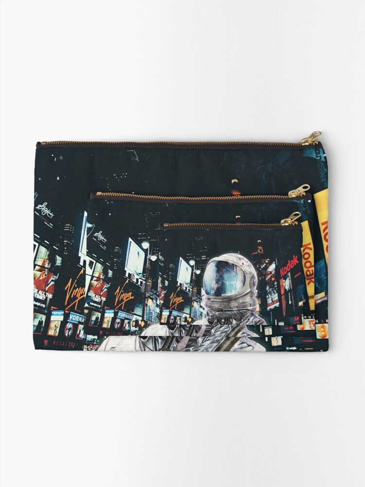 Alternate view of Night Life Zipper Pouch