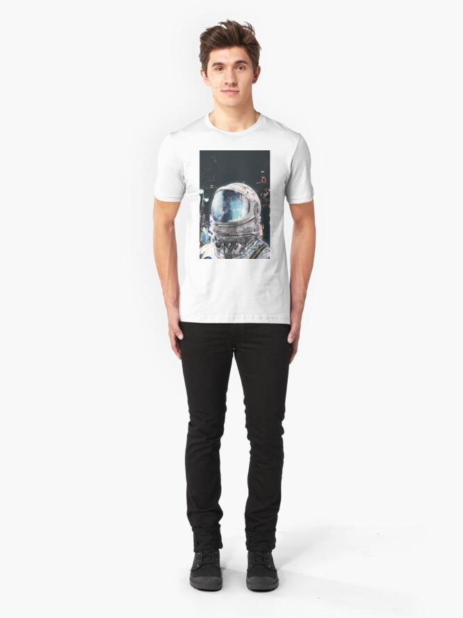 Alternate view of Night Life Slim Fit T-Shirt