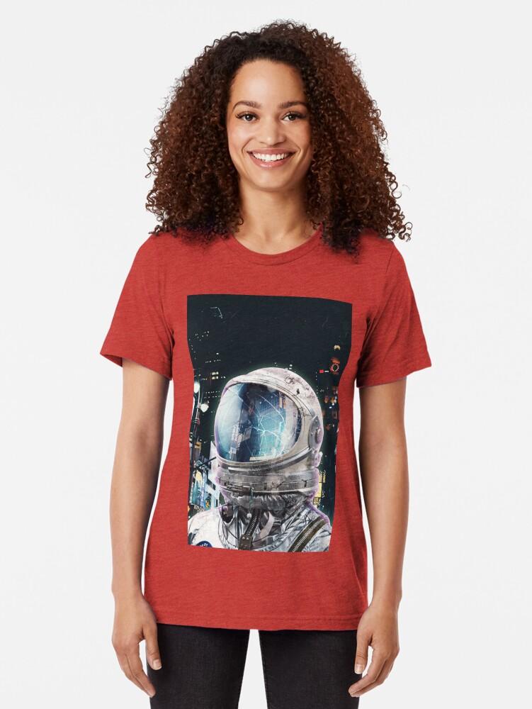 Alternate view of Night Life Tri-blend T-Shirt