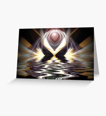 Divine Passage Greeting Card