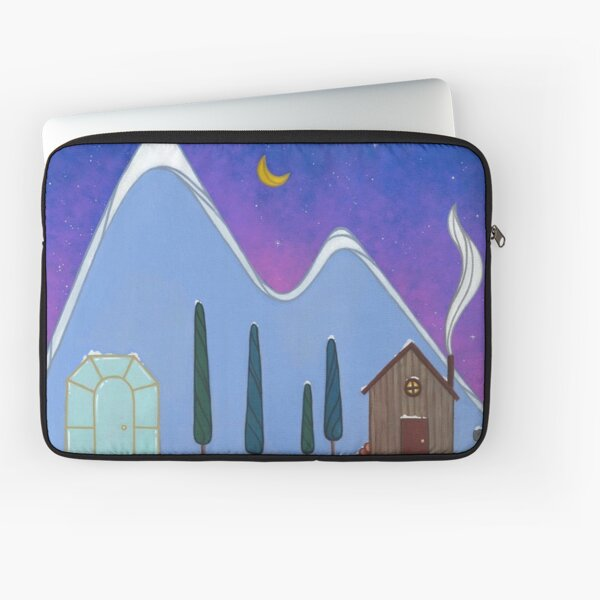 Winter in the Valley Laptop Sleeve