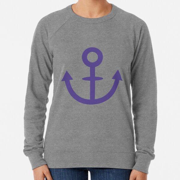 Jojo - Soft & Wet Anchor (Variant 1, Blue) Lightweight Sweatshirt