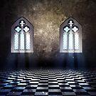 Zimmer mit gotischem Fenster 3 von AnnArtshock