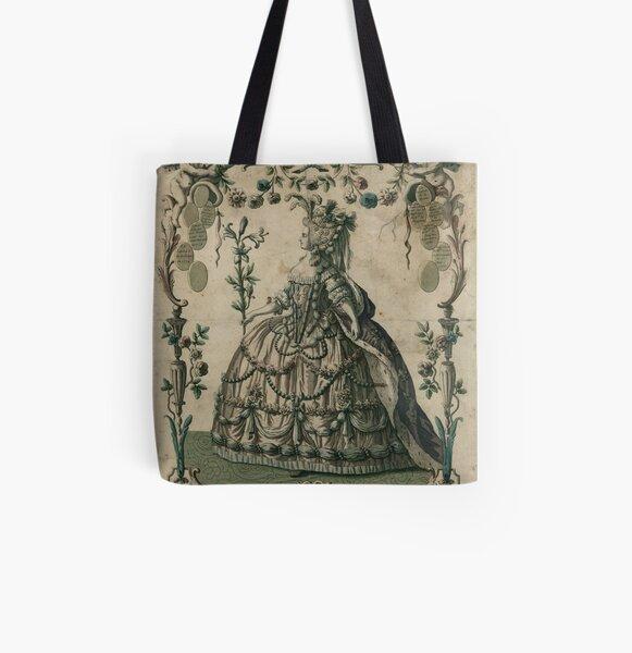 Marie-Antoinette Tote bag doublé
