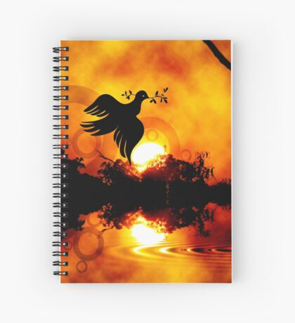 peace on earth Spiral Notebook
