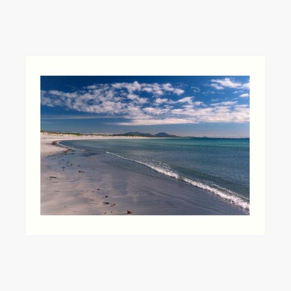Benbecula: Borve Beach Art Print