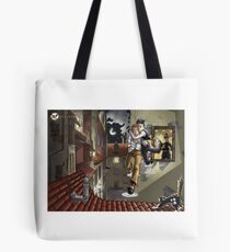 Jackdaw: Escape by Mila May Tote Bag