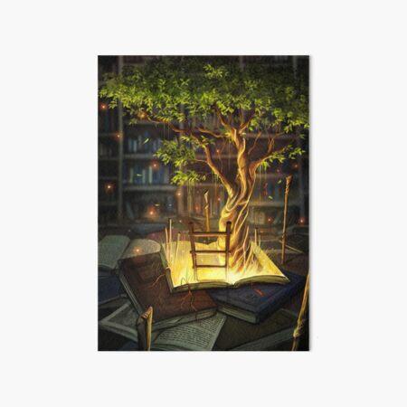 The Librarian's Retreat Art Board Print