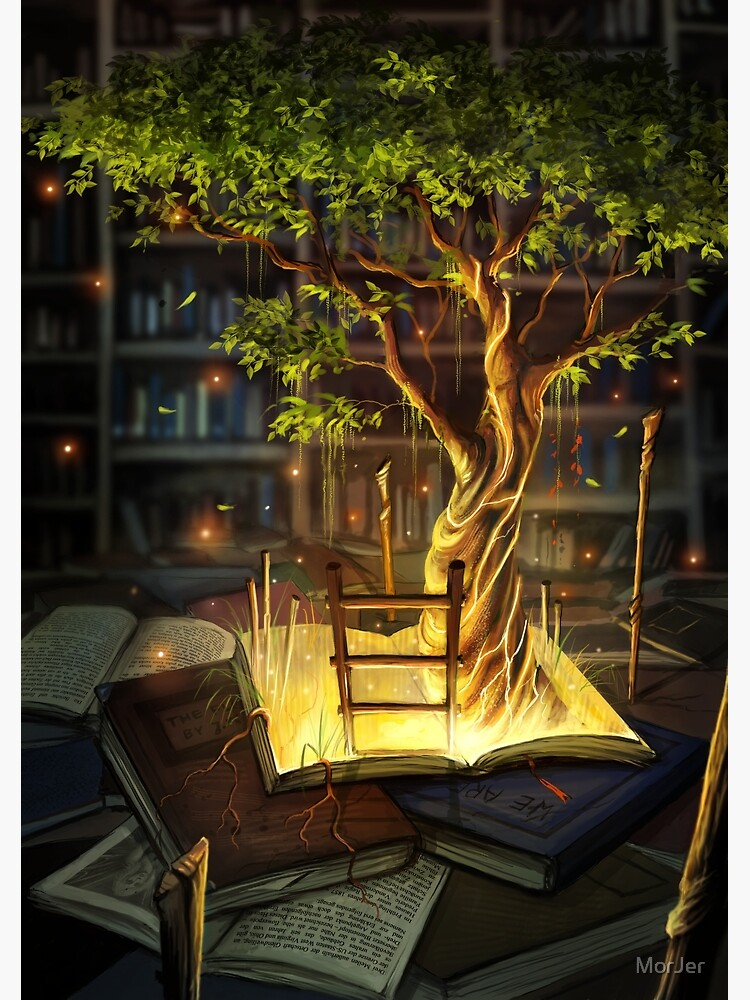 The Librarian's Retreat by MorJer