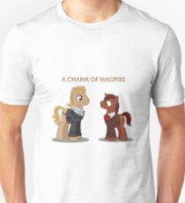 Charm of Magpies ponies T-Shirt