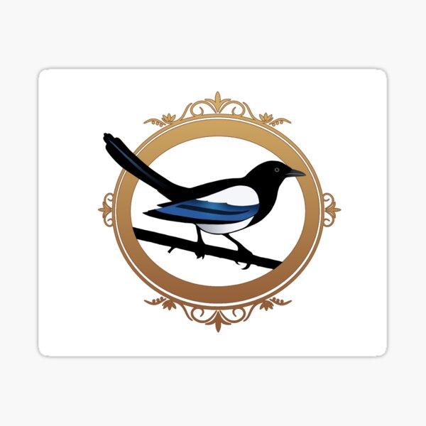 KJC Magpie logo Sticker