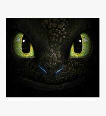 Big Toothless From How To Train Your Dragon Photographic Print