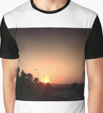 Sunset Intersection Graphic T-Shirt