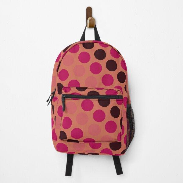 Sou's Polka Dot Pattern Backpack