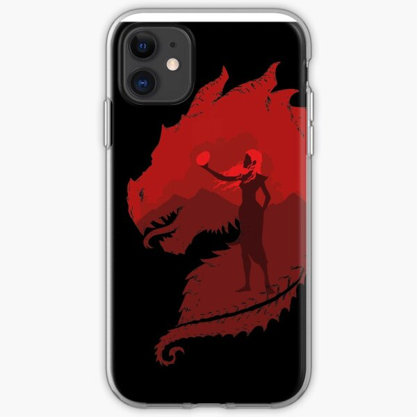 Mother of Dragons (Dark) iPhone Soft Case