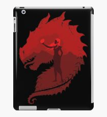 Mutter der Drachen (dunkel) iPad-Hülle & Klebefolie