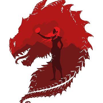 Mutter der Drachen (Licht) von tlamey