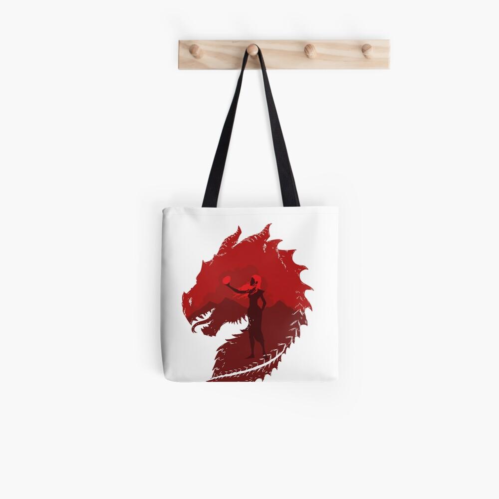 Mutter der Drachen (Licht) Tote Bag