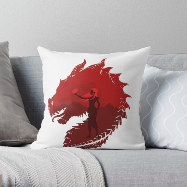 Mother of Dragons (Light) Throw Pillow