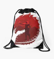 Mother of Dragons (Light) Drawstring Bag