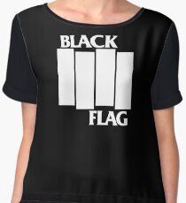 Black Flag T Chiffon Top