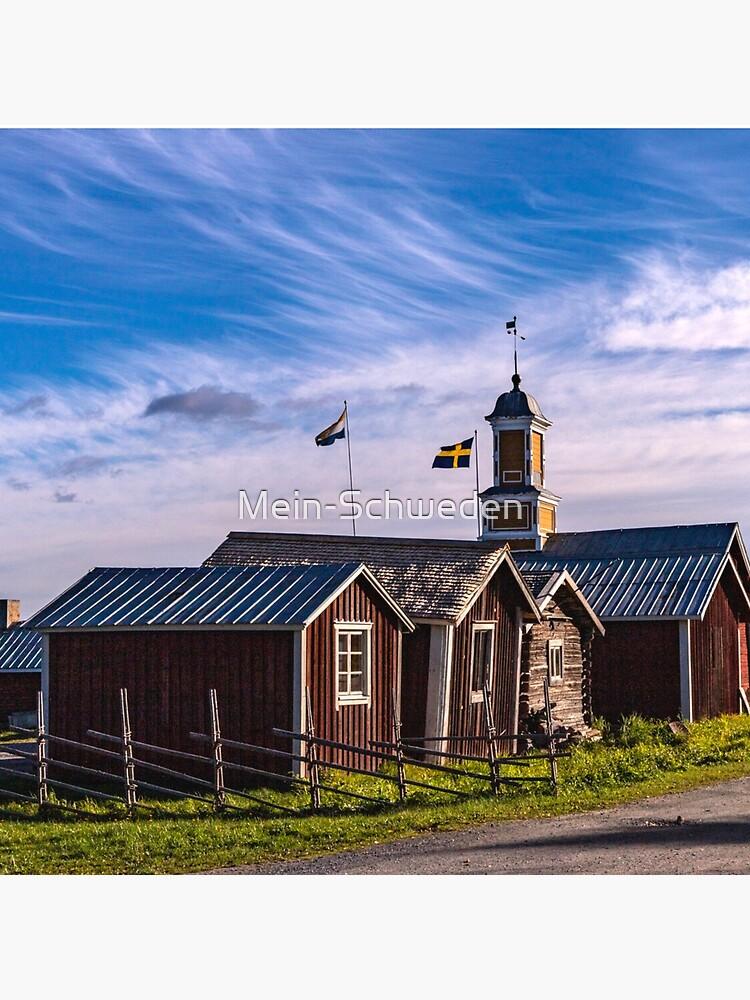 Alte Kirche bei Kukkolaforsen von Mein-Schweden