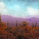 Golden Light and Purple Mountains by Susan Werby