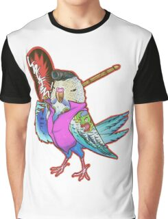 Yakuza Budgie Graphic T-Shirt