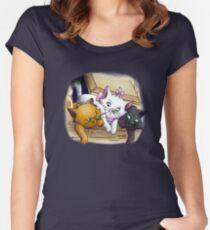 Baby Kitties Women's Fitted Scoop T-Shirt