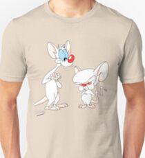 Best Friend Pinky And Brain Unisex T-Shirt