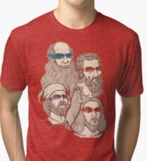 Leonardo, Michelangelo, Donatello, and Raphael... Oh and Splinter Tri-blend T-Shirt