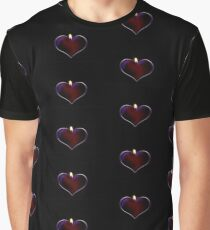 Candle heart Graphic T-Shirt