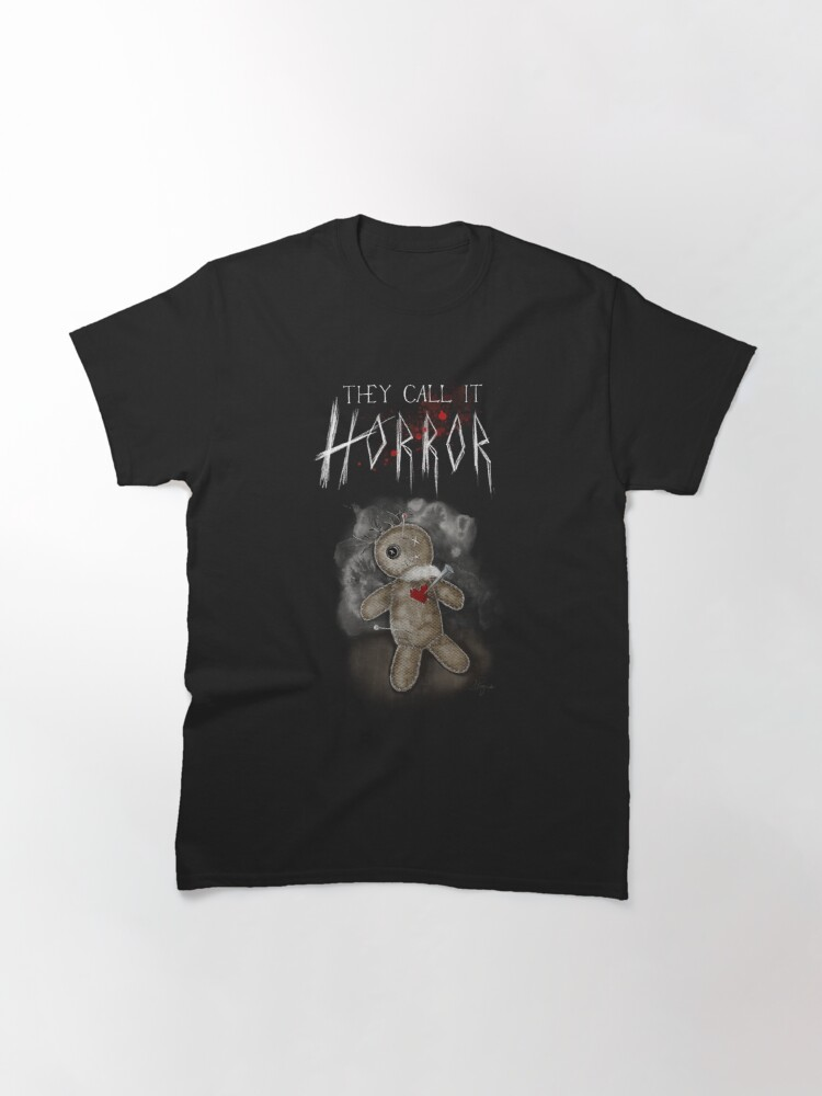 Alternate view of They Call It Horror - Voodoo Doll  Classic T-Shirt