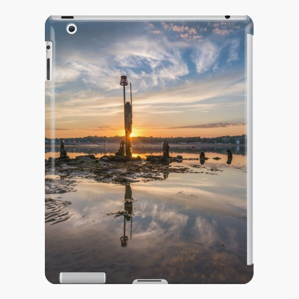 Bembridge Harbour Sunset iPad Snap Case