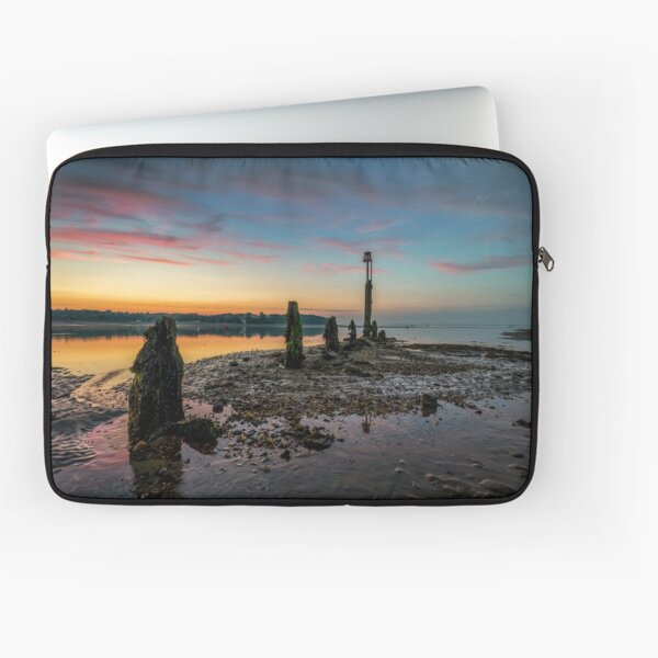 Silver Sands Sunset Bembridge Laptop Sleeve