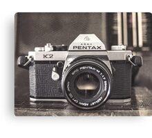 Pentax K2 Canvas Print