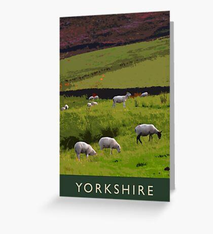 Yorkshire Greeting Card