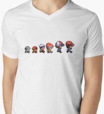 Pokemon evolution Men's V-Neck T-Shirt