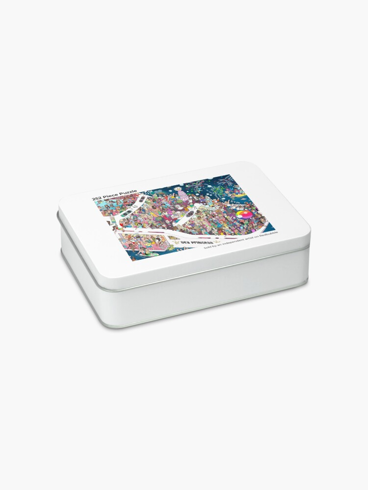 Alternate view of Mermaid Party Yacht Jigsaw Puzzle
