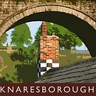 Knaresborough detail by Dave Milnes