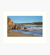 Bigbury-on-Sea Art Print