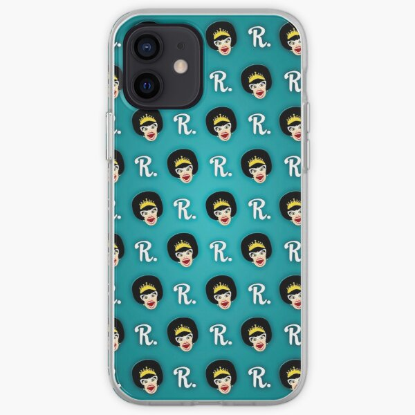 Many Faces of Miss Richfield - Teal iPhone Soft Case