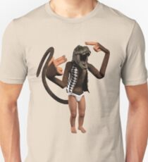 T Rex Monkey Baby T-Shirt