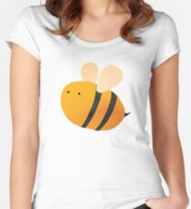 Bee Women's Fitted Scoop T-Shirt