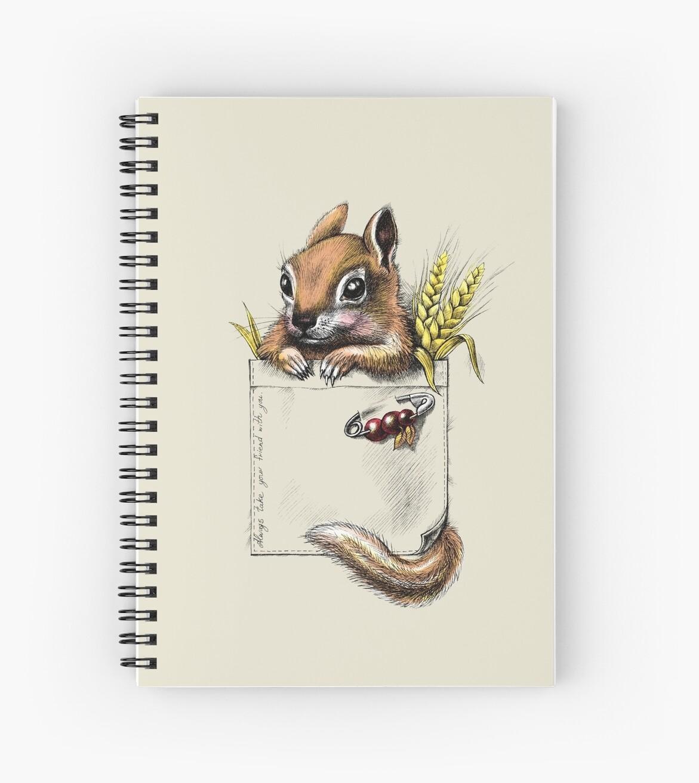 Pocket chipmunk by elinakious