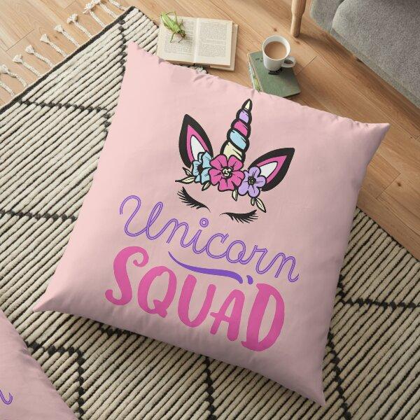 Unicorn Squad Floor Pillow