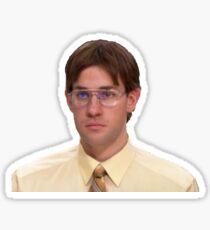 Jim Halbert as Dwight Schrute Sticker