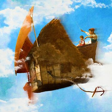 The Flying House version 2 by DVerissimo