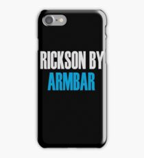 Rickson By Armbar (Brazilian Jiu Jitsu) iPhone Case/Skin