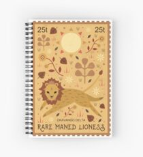 Maned Lioness  Spiral Notebook